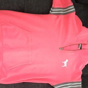 PINK LIMITED EDITION TURTLE NECK SWEATSHIRT